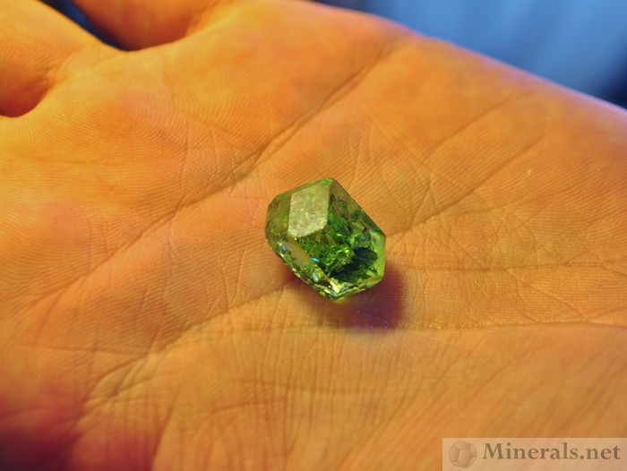 tsavorite garnet dodecahedral crystals africa