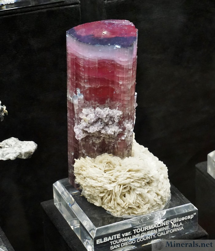 Bluecap Tourmaline Queen Mine, Pala, California