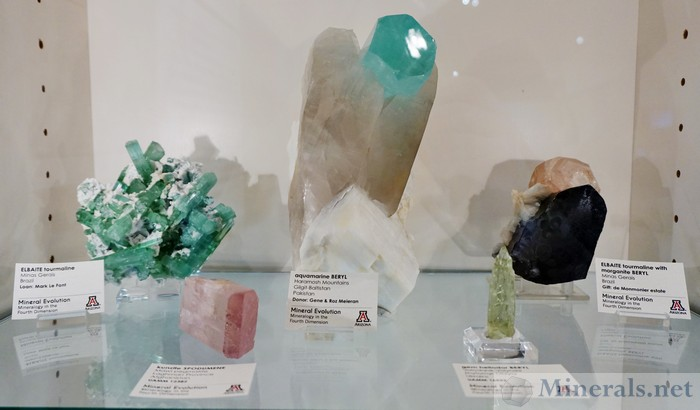 University of Arizona Mineral Museum pegmatites