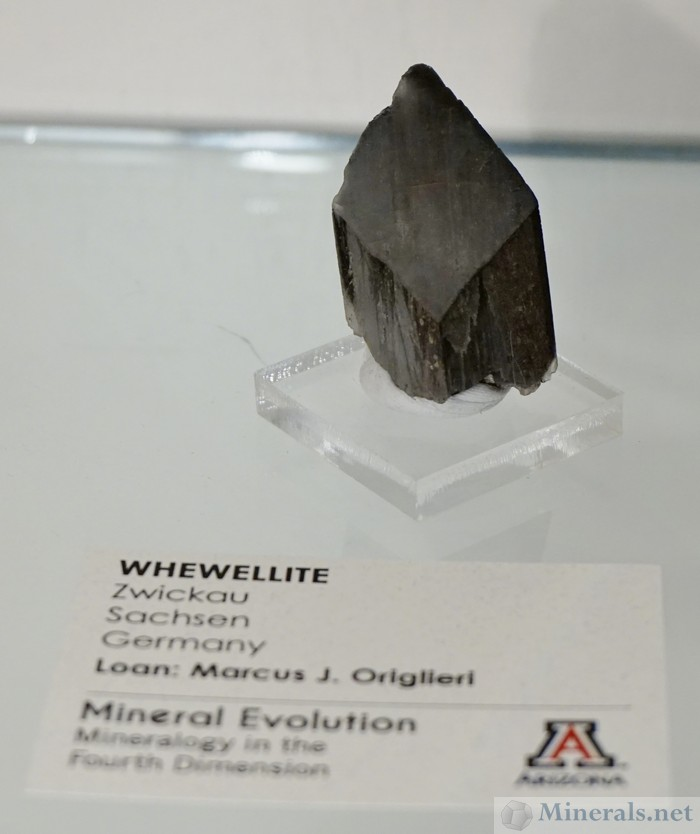 hewellite Crystal from Zwickau, Saxony, Germany