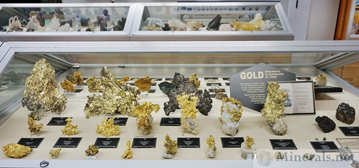 Gold Specimens from California