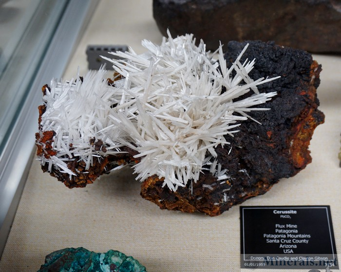 Cerussite Flux Mine, Patagonia, Arizona