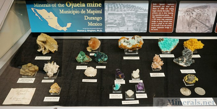 Minerals of the Ojuela Mine, Mapimi, Durango, Mexico