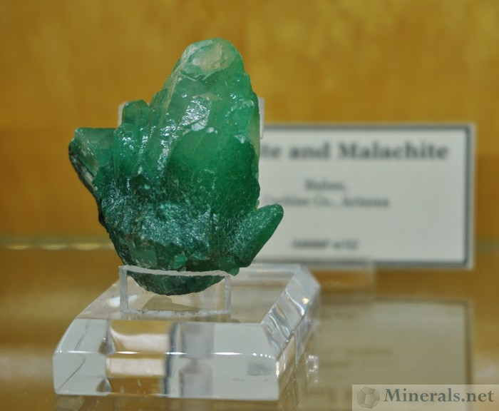 Calcite Malachite Inclusions Bisbee, Arizona