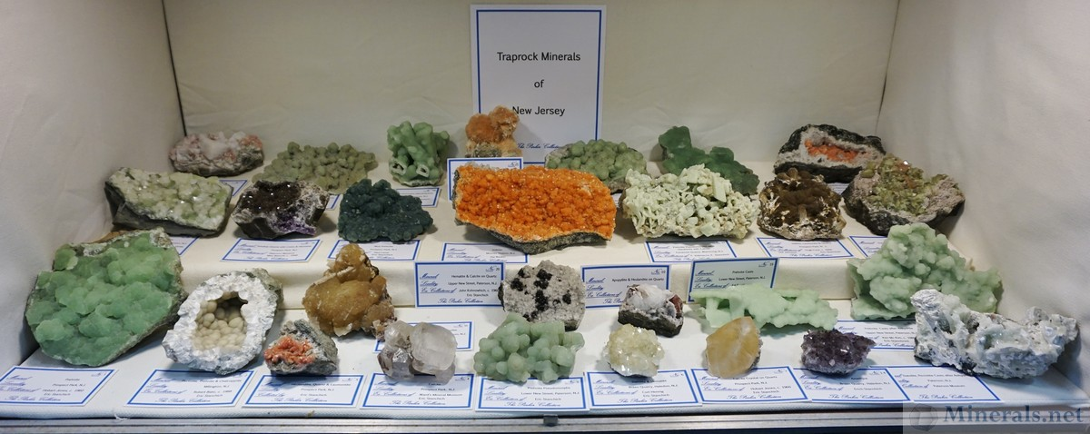 NJ Traprock Minerals from the Collection of Stan Parker