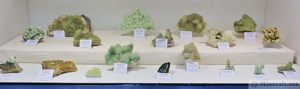 Prehnite from New Jersey, from the Collection of Hershel Friedman