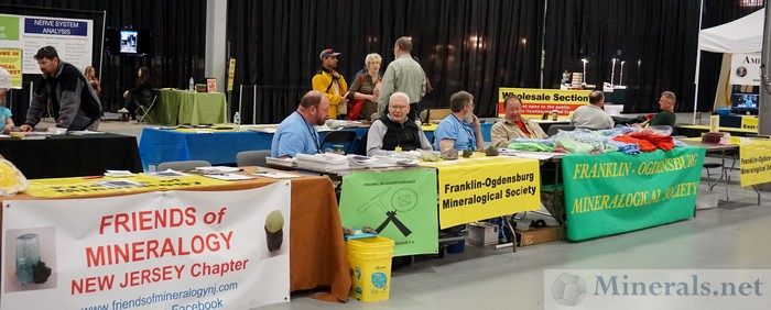Club Information Tables at the NY/NJ Show