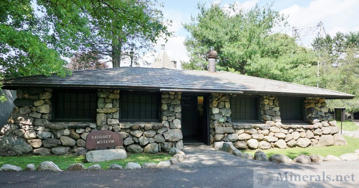 Geology Museum at the Bear Mountain Zoo
