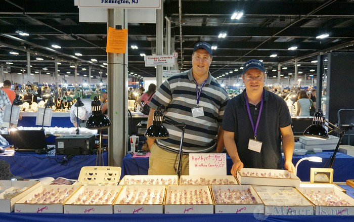 Jason Baskin (R) and his cousin Kyle Baskin (L) in Front of their Amethyst for Sale