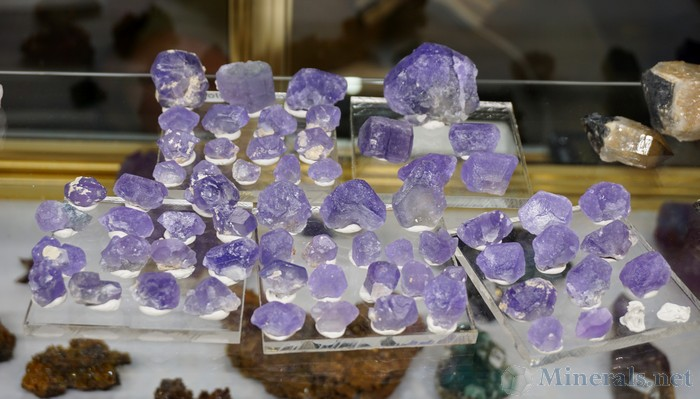 Purple Apatite from Namibia