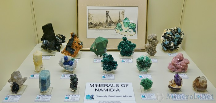 Minerals from Namibia