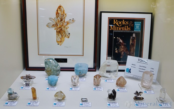 Topaz from Worldwide Localities