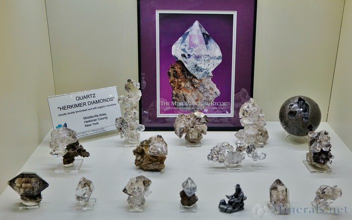 Herkimer Diamonds from the Middleville Area, Herkimer Co., New York