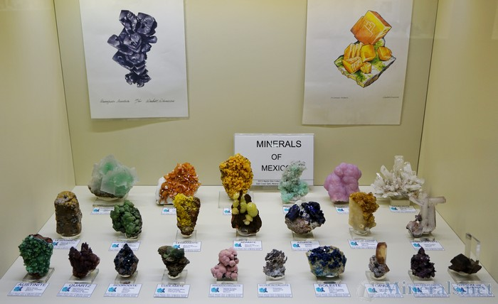 Misc Minerals from Mexico