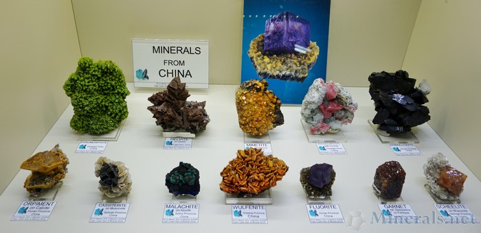 Misc Minerals from China
