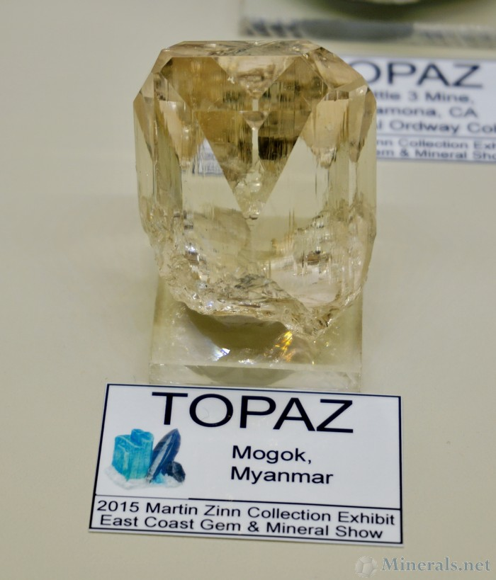 Water-Clear Fluorite Cubes from Dal'Negorsk, Russia