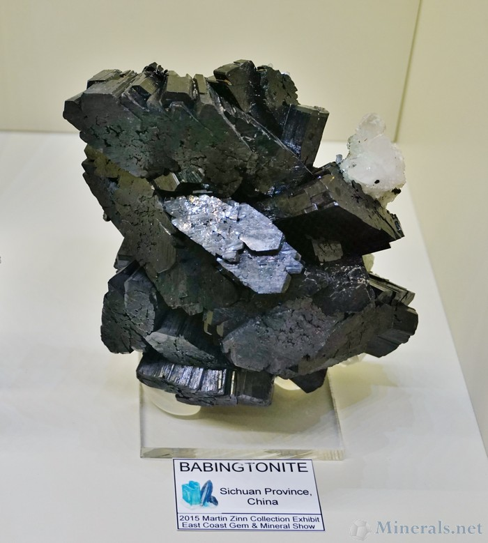 Babingtonite from Sichuan Province, China