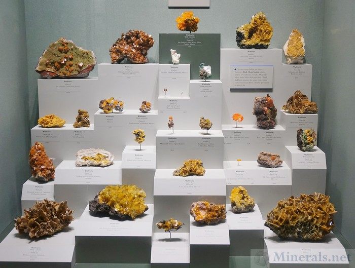 Wulfenite from Worldwide localities