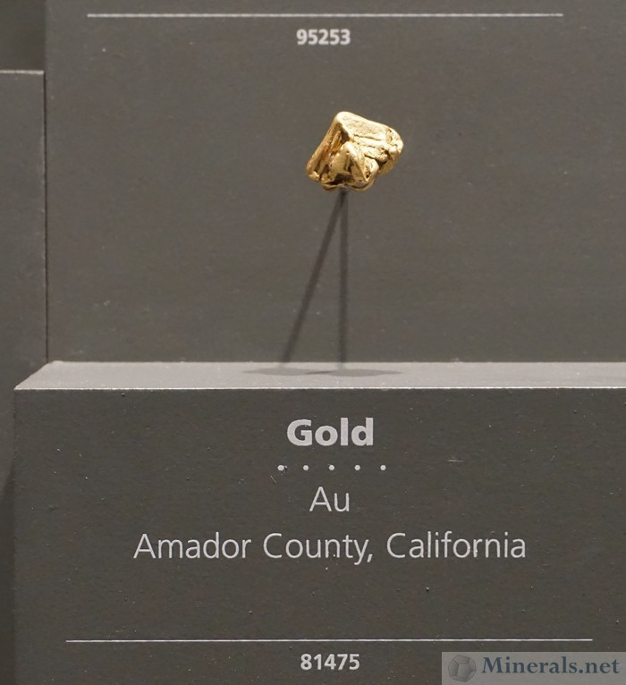 Hoppered Gold Crystal, Amador Co., California