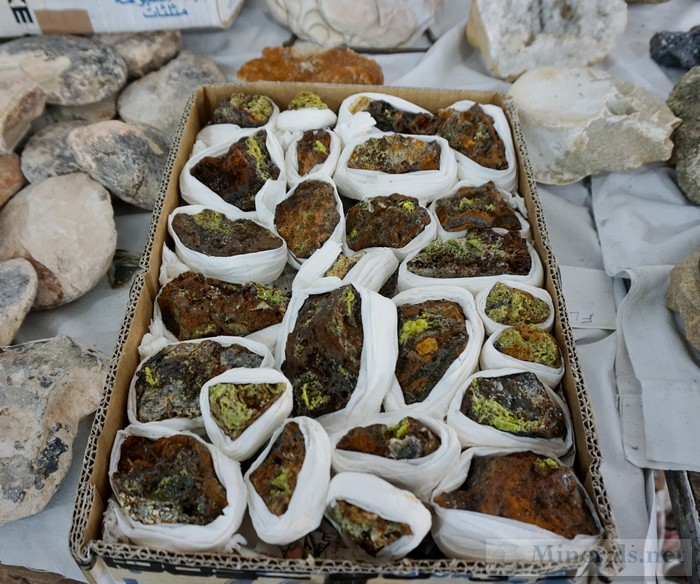 New Find of Pyromorphite from Morocco