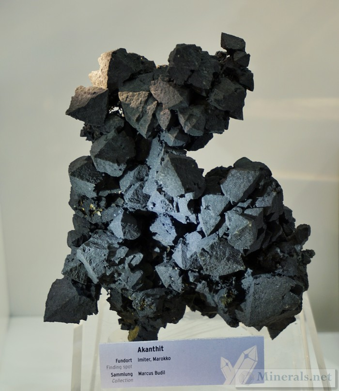 Acanthite Crystals Imiter Morocco