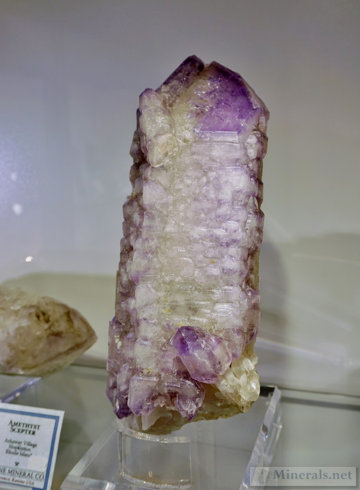 Amethyst Scepter from Ashaway Village, Hopkintown, Rhode Island