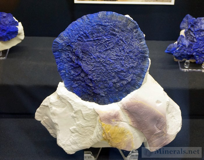 Azurite Suns from the Malbunka Copper Mine, Central Australia Dehne & Maureen McLaughlin