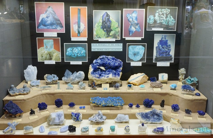 Blue Minerals of the World Thomas Hales Collection