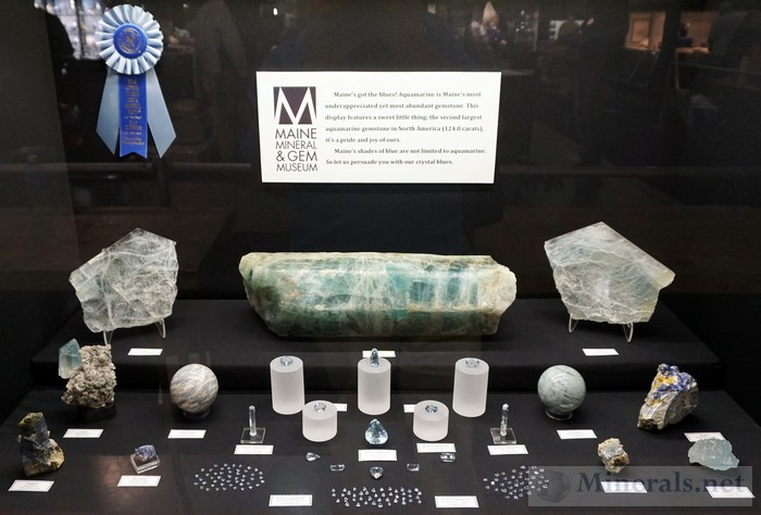 Maine's got the Blues Maine Mineral & Gem Museum
