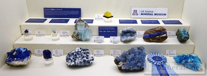 Causes of Blue Minerals University of Arizona Mineral Museum