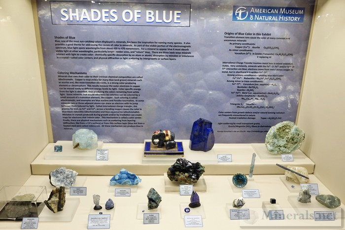 Worldwide Blue Minerals American Museum of Natural History