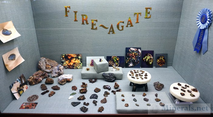 Fire Agate Showcase Rothengatter Goldsmiths - Philip & Ginger