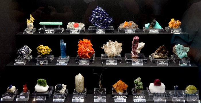 Another Showcase of Fine Minerals Tucson Show 2016