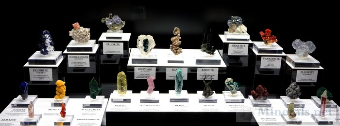 High Quality Miniatures Minerals Tucson Show 2016
