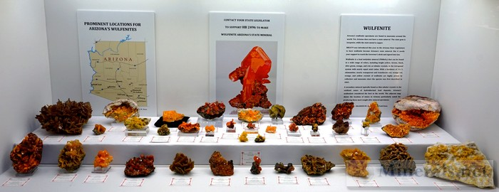 Prominent Locations for Arizona's Wulfenite