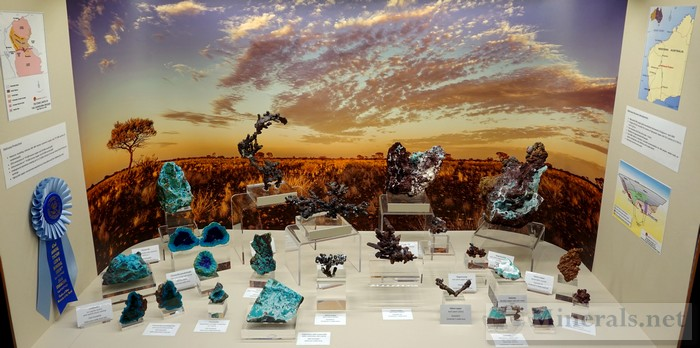Minerals of the Degrussa Project in Western Australia