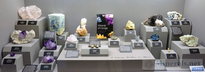Minerals of Georgia Tellus Science Museum