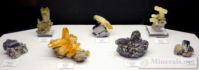 Minerals from the Vilburnum Trend, Missouri Dan & Diana Weinrich