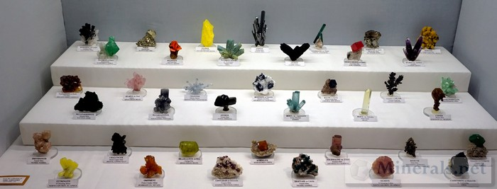 >Colorful Worldwide Mineral Specimens Collection of Phil Gregory, Denver, CO
