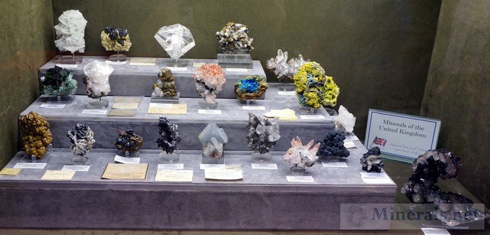 Minerals of the United Kingdom Wayne and Dona Leicht Collection, Laguna Beach, CA