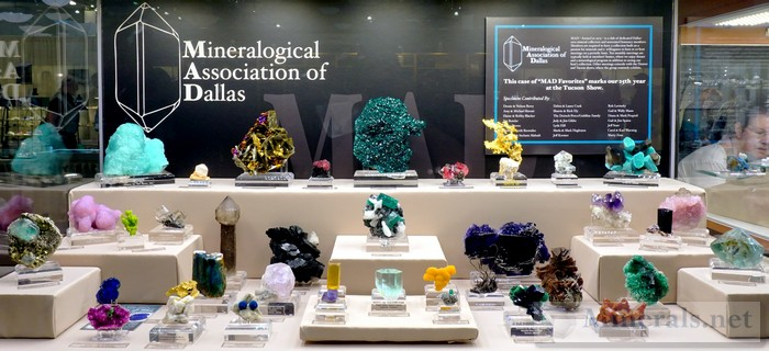 Fine Worldwide Minerals Mineralogical Association of Dallas