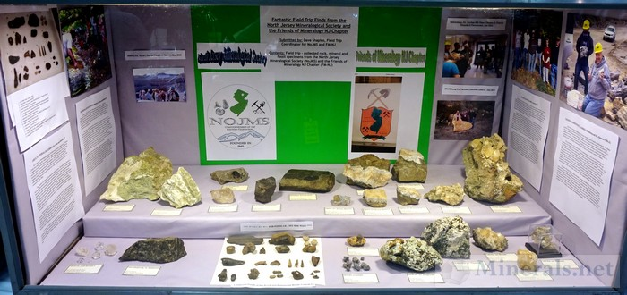 NY/NJ Edison Mineral Show North Jersey Mineralogical Society