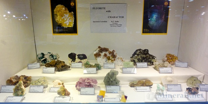 NY/NJ Edison Mineral Show Fluorite with Character KC Dalby