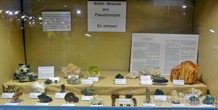 NY/NJ Edison Mineral Show Ed Johnson