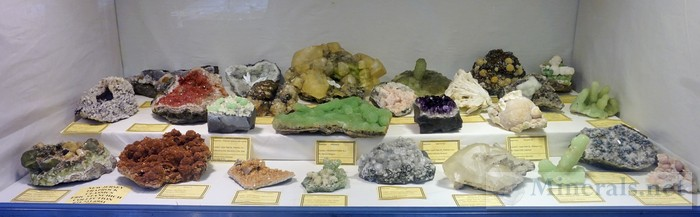 NY/NJ Edison Mineral Show Traprock Minerals from New Jersey Eric Stanchich