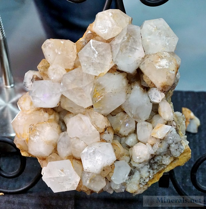 >More Large Quartz Crystal Clusters from Ellenville, New York