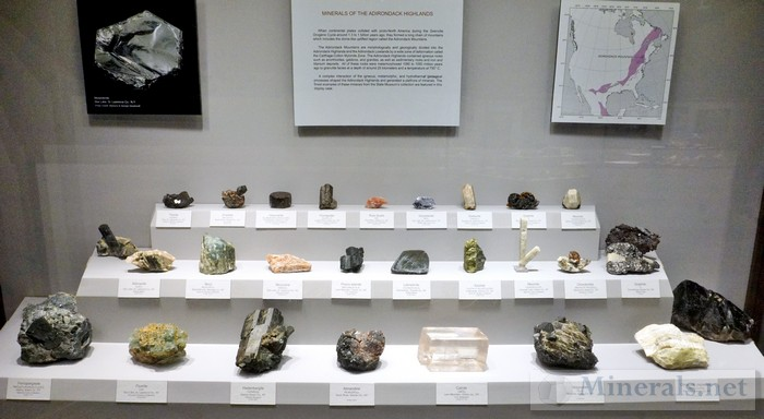 Minerals of the Adirondack Highlands