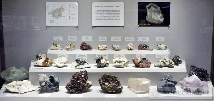 Minerals of the Adirondack Lowlands