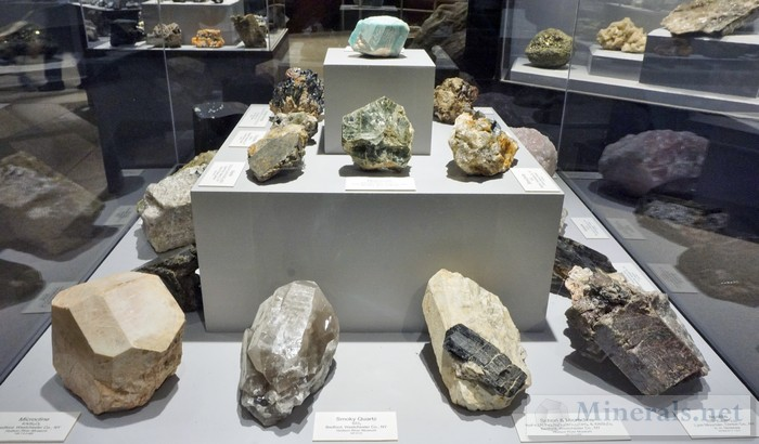 Pegmatite Minerals of New York 1
