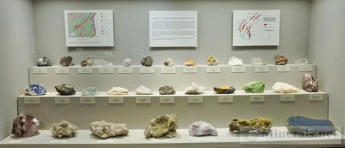 Minerals from the Balmat-Edwards Mining District